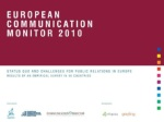 Communication Monitor 2010 Results