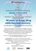 Side Event 40 Years of Drugs CND UNDC 2018