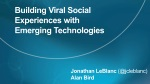 Building Viral Social Experiences