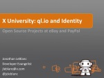 X University Georgia Tech: ql.io and Identity