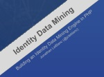 Building an Identity Extraction Engine