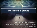 The Profitable Startup