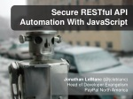 Secure RESTful API Automation With JavaScript