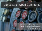 The Upheaval of Open Commerce