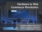 The Hardware to Web Commerce Revolution
