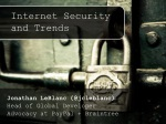 Internet Security and Trends