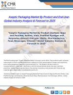Aseptic Packaging Market By Product and End User- Global Industry Analysis & Forecast to 2025