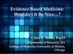 Stout on Evidence Based Practice Tools