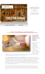 2016 June Tools for Change CGI Newsletter