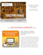 2016 July Tools for Change CGI Newsletter
