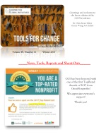 2017 Winter Tools for Change CGI Newsletter