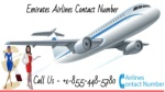 Emirates Airlines Contact Number 1-855-448-5780