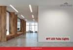 4ft LED Tube Lights- The Eco-Friendly Lights For Your Home And Office