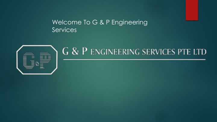 welcome to g p engineering services n.