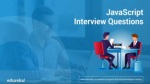 JavaScript Interview Questions and Answers | Full Stack Web Development Training | Edureka