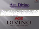 Ace Divino New Residential Apartments | Floor Plan | location map | Price list