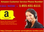 Dealing With Amazon Issues Is Very Process With Amazon Customer Service 1-855-431-6111
