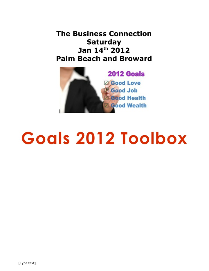 the business connection saturday jan 14 th 2012 n.