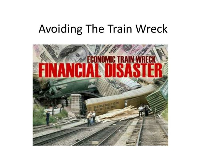 the financial train wreck n.