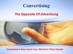 Convertising Vs Advertising