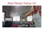 Personal Trainer UK