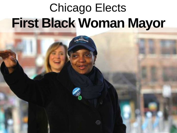 Chicago elects first black woman mayor