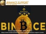 Binance Support number (860) 266-2763