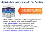 Life Nutra Keto Diet Shark Tank Fast & Safe Weight Loss?