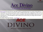 Ace Group | Ace Divino 3 bhk Apartment For sale