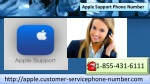 Acquire Customer Care for Apple Using Apple Support Phone Number 1-855-431-6111