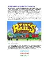 Tiny Rails Hack 2019, The Best Hack Tool To Get Free Gems