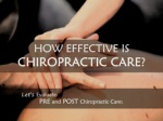 How effective is chiropractic care?