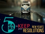 5 Cars To Keep Your New Year's Resolution