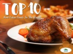 Top 10 Most Eaten Foods In The World