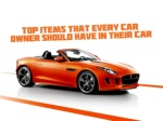 Top items that every car owner should have in their car