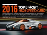 2016's top 10 most high speed cars