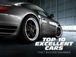 Top 10 excellent cars that buyers shunned