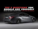 Top 5 questions you should ask yourself before you make a decision about tinting your car windows