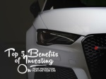 Top 5 benefits of investing on paint protection film for your car
