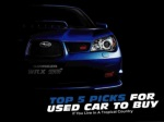 Top 5 picks for used cars to buy if you live in a tropical country