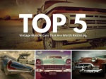 Top 5 vintage muscle cars that are worth restoring