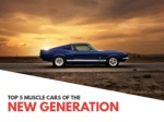 Top 5 muscle cars of the new generation