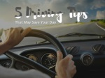 5 Driving Tips That May Save Your Day