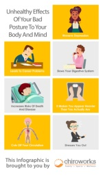 Unhealthy effects of your bad posture to your body and mind