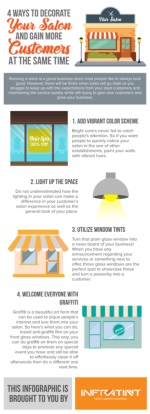 4 Ways To Decorate Your Salon And Gain More Customers At The Same Time