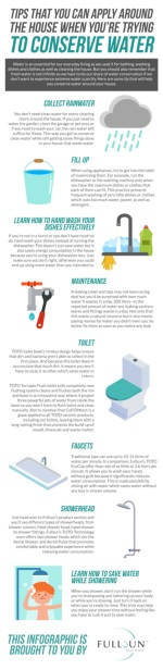 Tips That You Can Apply Around The House When You're Trying To Conserve Water