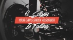 6 Signs Your Car's Shock Absorber Is Failing