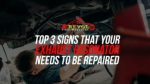 Top 3 Signs That Your Exhaust Resonator Needs To Be Repaired