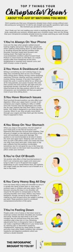 Top 7 Things Your Chiropractor Knows About You Just By Watching You Move