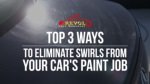Top 3 Ways To Eliminate Swirls From Your Car's Paint Job